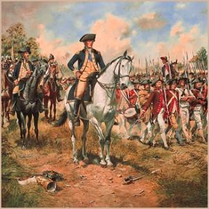 Washington in NJ, 1777