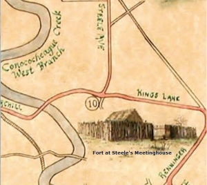 Fort at Steele's Meetinghouse