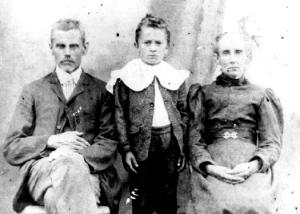 Ahab Stemple, Mary Ardelia Carpenter Stemple