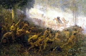 Battle of Monongahela 1755 - Braddock's Defeat