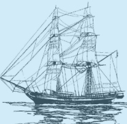 "An 18th century Engish <em>""Snow,""</em> the <em>""Samuel,""</em> sailed from Rotterdam Holland, to the port of Deal England, and then Philadelphia."