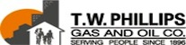 T.W. Phillips Gas and Oil Company logo
