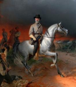 Lee on Horseback