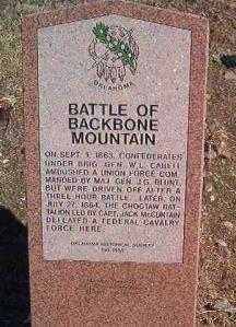 Battle of Backbone Mountain