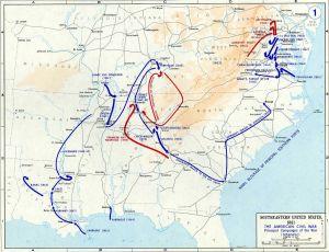 Civil War Map 1861