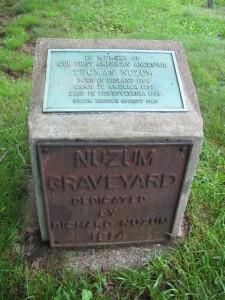 Thomas Nuzum Memorial, Nuzum Cemetery, Colfax, WV