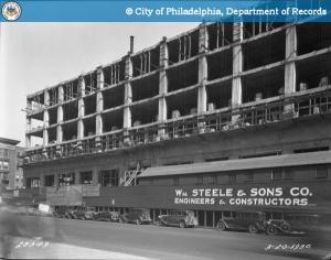 Early work on Terminal Commerce Bldg.