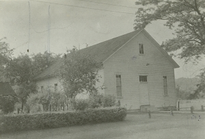 Casselman Mennonite Church, 1948.