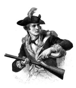 Thomas Nuzum served in the Revolutionary War.