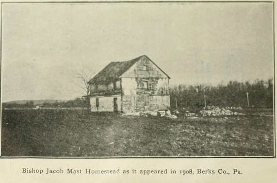 Jacob Mast home