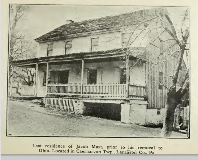 Jacob Mast Residence