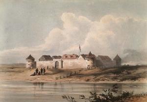 Lower Fort Garry c.1848