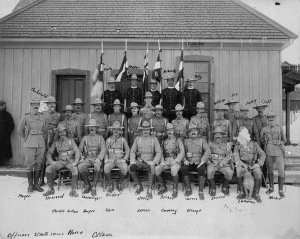 Officers of Lord Strathcona's Horse, Ottawa, Ontario