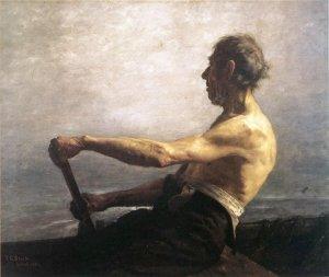 T.C. Steele - The Boatman