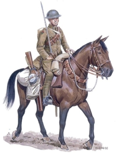 Trooper, Lord Strathcona's Horse (Royal Canadians), 1918
