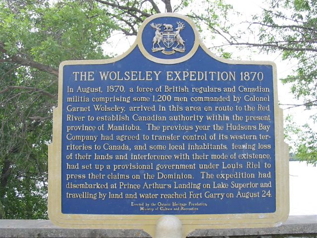 Wolseley Expedition