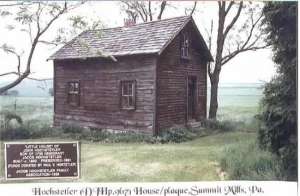 Jacob Hostetler Cabin