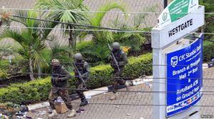 Kenyan Soldiers at Westgate Mall, Nairobi