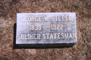 George W. Steele Marker