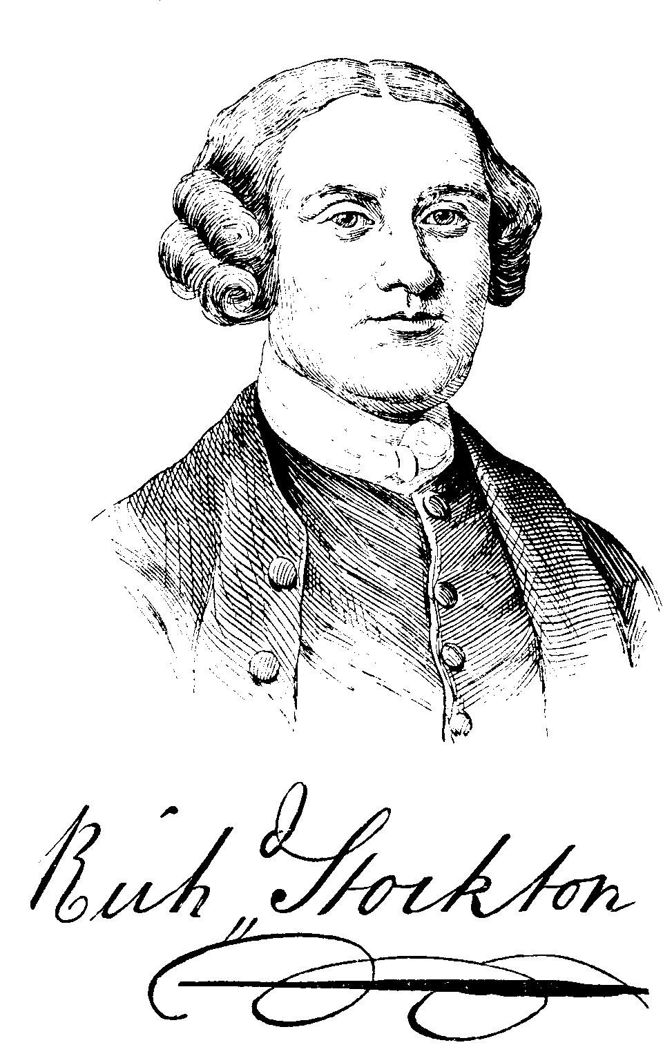 richard stockton Richard stockton was born near princeton, on october 1, 1730 he attended the  west nottingham academy under dr samuel finley, and then earned his.